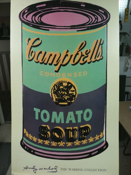 Andy Warhol (after)  - Campbell's Tomato Soup Can
