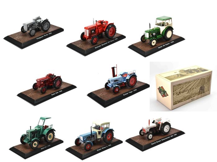 Preview of the first image of Edition - 1:32 - Lot of8 diverse vehicles.