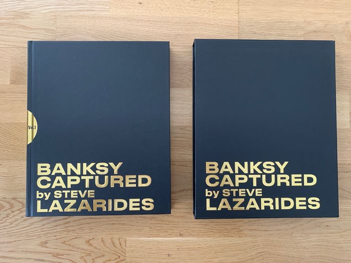Banksy, Steve Lazarides - Banksy Captured [Black Edition] - 2020
