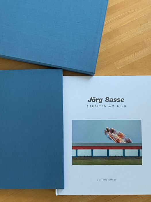 Signed; Jörg Sasse - Arbeiten am Bild [Collectors edition with signed photography] - 2001
