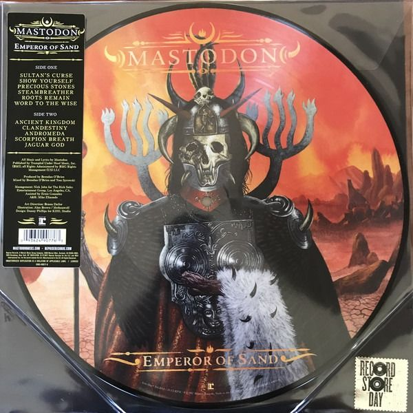 Mastodon - Two Amazing M&S Picture Discs II Cold Dark Place II Emperor of Sand - Multiple titles - LP's, Picture disk - 2017/2018