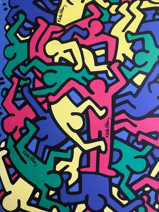 Keith Haring (after) - Untitled, 1986