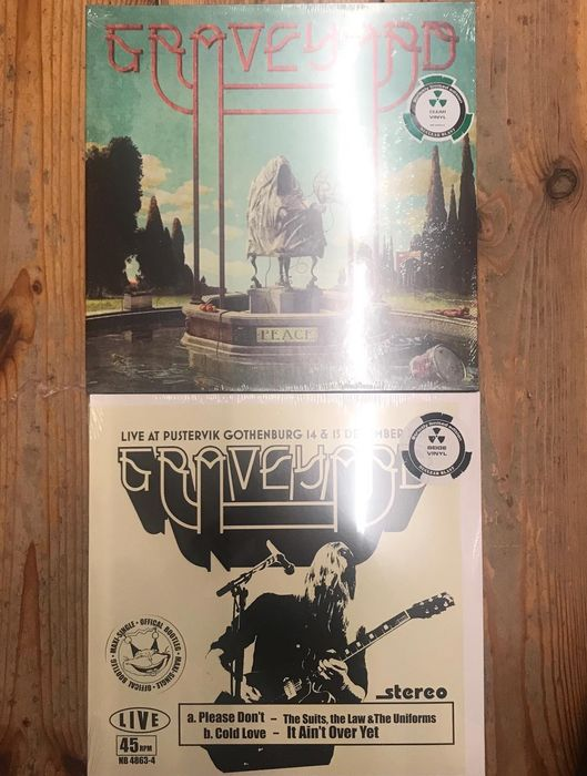Graveyard - Two Amazing M&S Records II Peace II Live @ Pustervik - Multiple titles - LP's - 2018/2019
