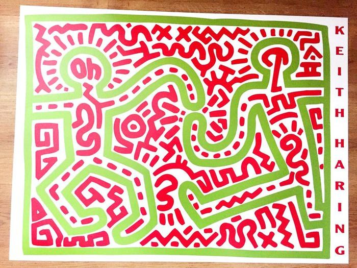 Keith Haring (after)  - Untitled