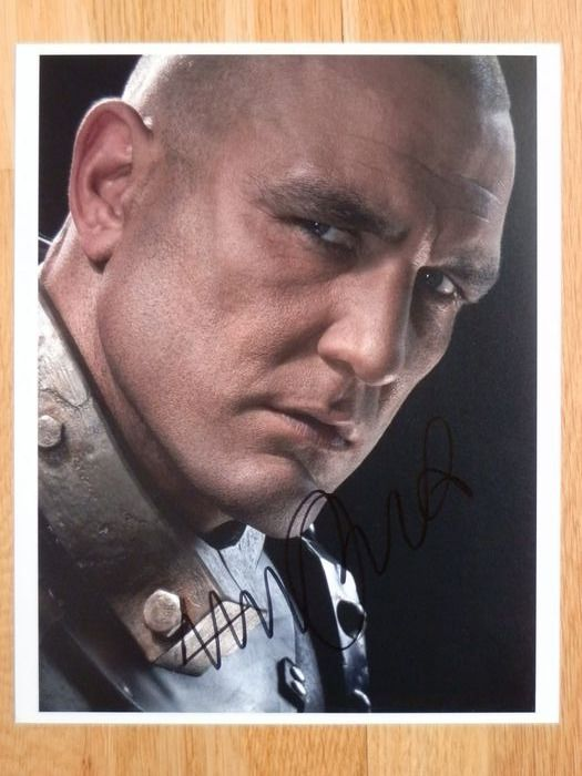 Vinnie Jones - Foto, Handtekening, Signed in person, Ivy Restaurant London 2015.