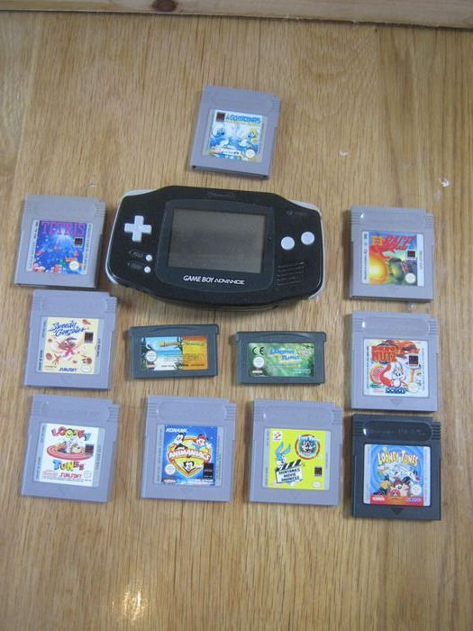 1 Nintendo Gameboy Advance - gameboy Advance +  11 games (11)