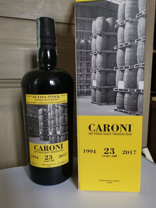 Caroni 1994 23 years old Velier - Double Maturation - b. 2017 - 70cl