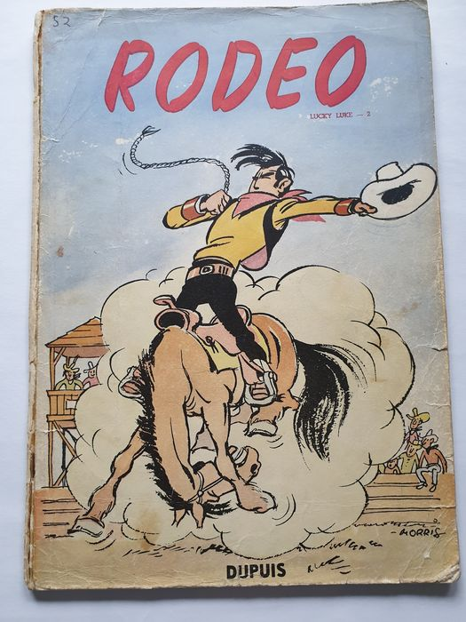 Lucky Luke 2 - Rodeo - Softcover - First edition - (1950)
