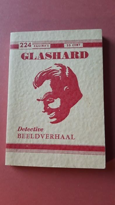Dick Bos 1 - Glashard - Softcover - First edition - (1969/1969)