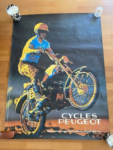 Poster - Motorcycles - Peugeot - 1970-1980