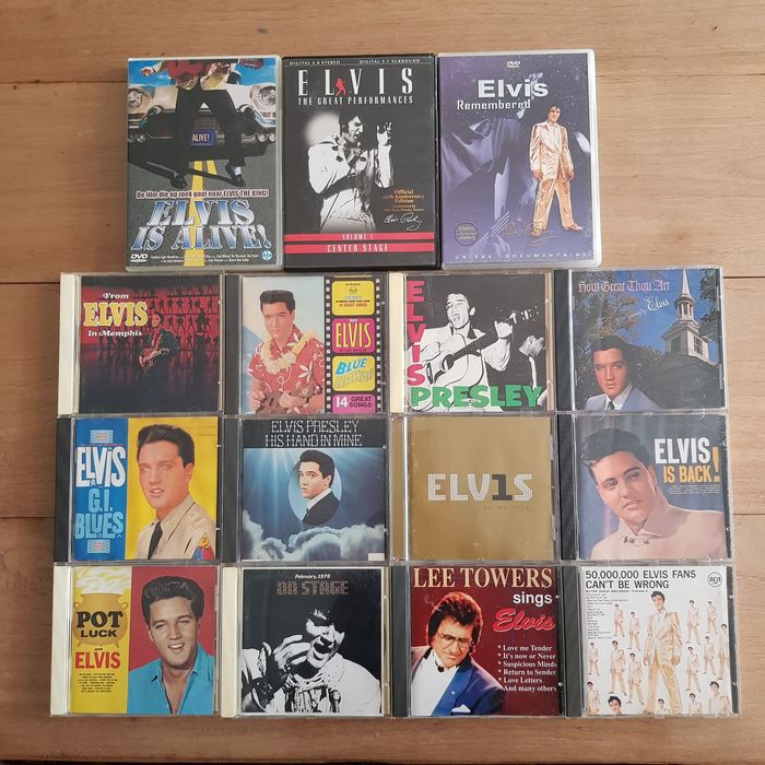 Elvis Presley & Related - Multiple titles - CD's, Deluxe edition, DVD's, Limited edition - 1959/1989