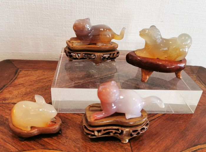 Animals in Agate (8) - Agate - Unknown - Mid 20th century