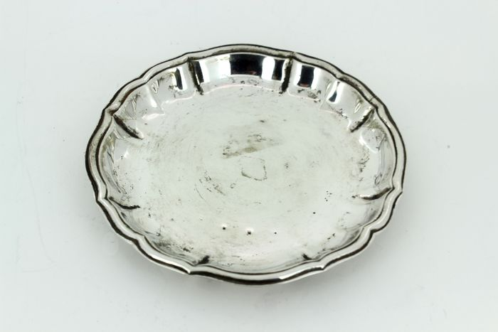 Antique miniature tray - .800 silver - Germany - Early 20th century