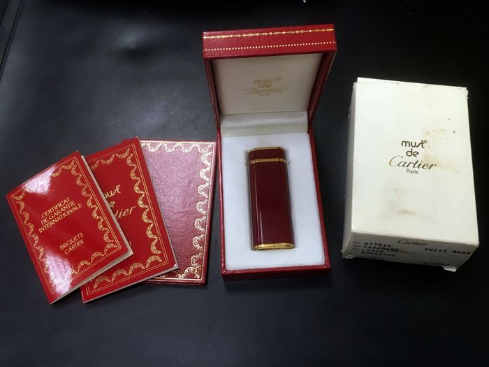 Cartier - Lighter - Complete collection of 1