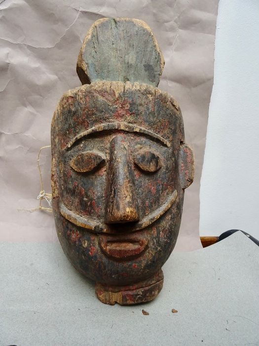 Mask - Wood - Nepal - First half 20th century