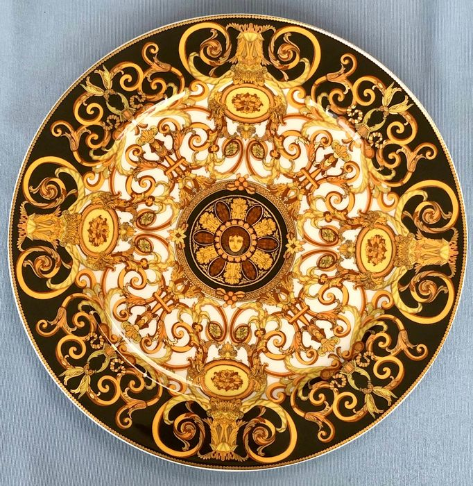 Versace - Rosenthal - Assiette 'Barocco' - Baroque - Porcelaine