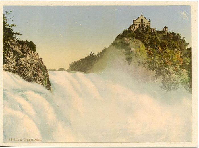 Anonyme - P.Z. Suisse, Rheinfall
