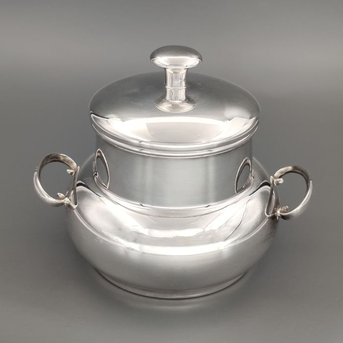 Sugar bowl (1) - .800 silver - Italy - Second half 20th century