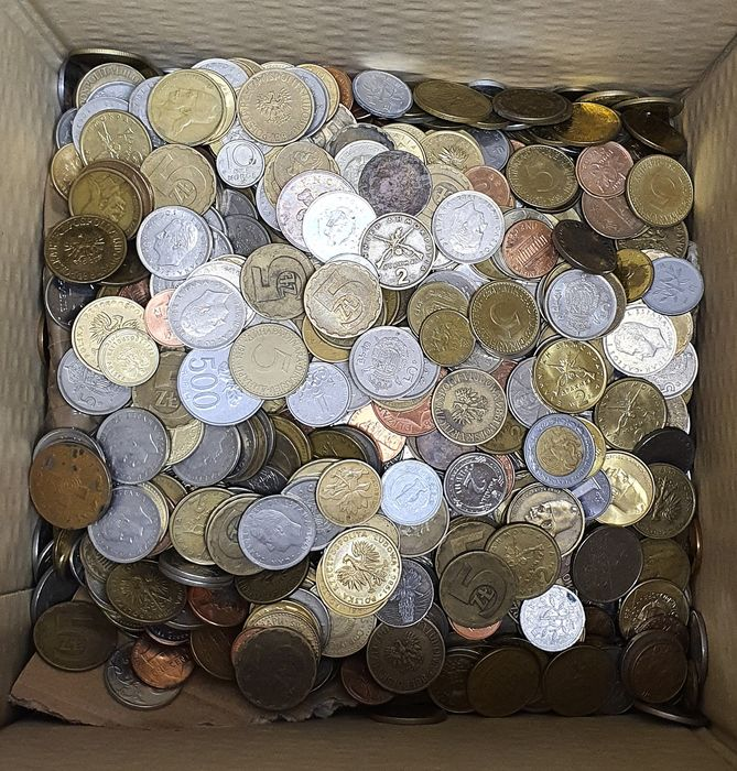 World - Lot of 5 kg of Coins