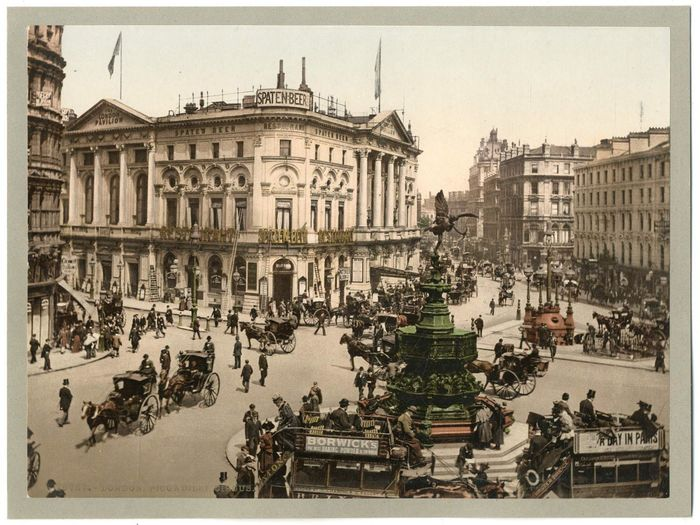 Anonyme - London, Piccadilly Circus