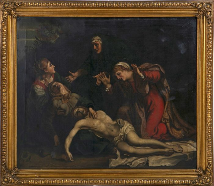 "Painting, ""Deposition of Jesus"" - Historicism - oil on canvas - Second half 18th century"