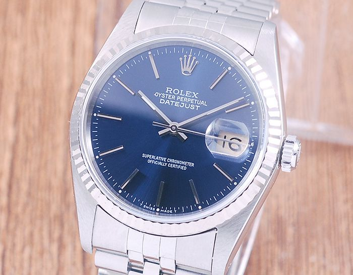 Rolex - Oyster Perpetual DateJust  - 16234 - Uomo - 1980-1989