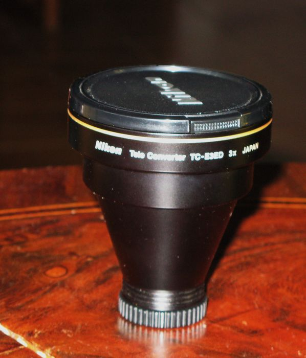Nikon teleconverter 3X (for Coolpix cameras)