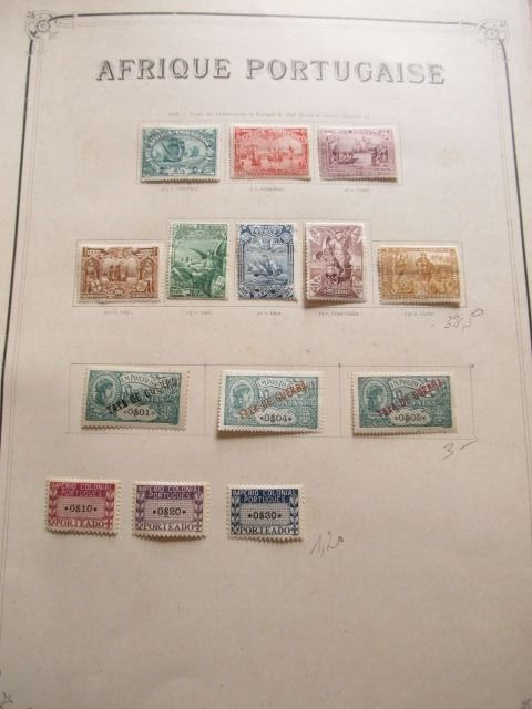 Alte portugiesische Kolonien - Very advanced collection of stamps