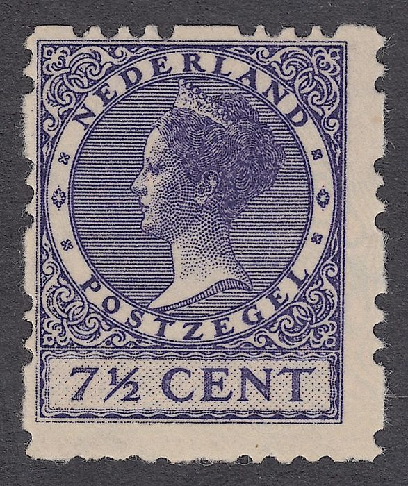 Netherlands 1927 - Three-holed, four-sided syncopation - NVPH R32a