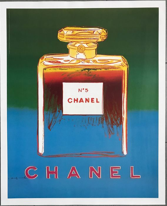 Andy Warhol (after) - CHANEL N 5 - 1997