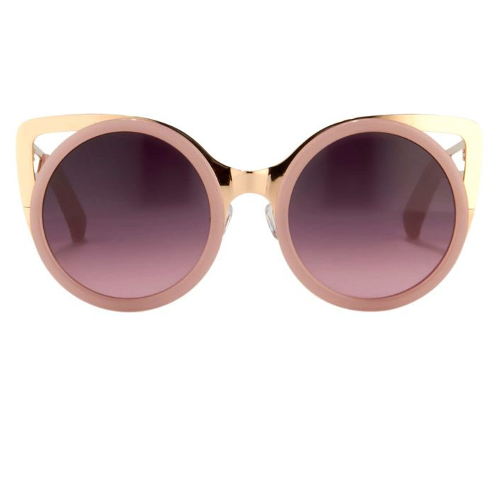 "Erdem - Cat Eye Light Pink Light Gold with Grey/Pink Graduated Lenses EDM4C3SUN  ""NO RESERVE PRICE"" Sunglasses"