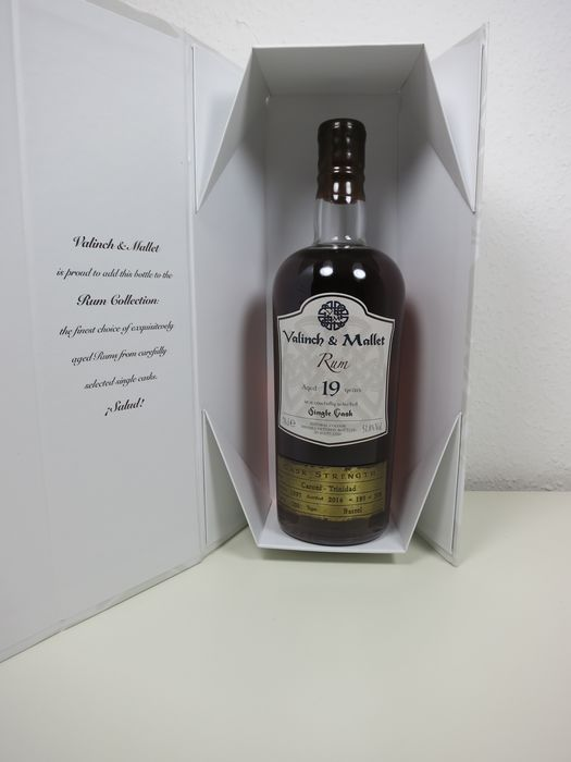 Caroni 1997 19 years old Valinch & Mallet - Single Cask - b. 2016 - 70 cl