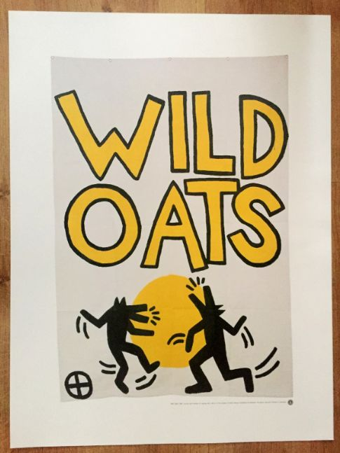 Keith Haring (after)  - Wild Oats - 1981