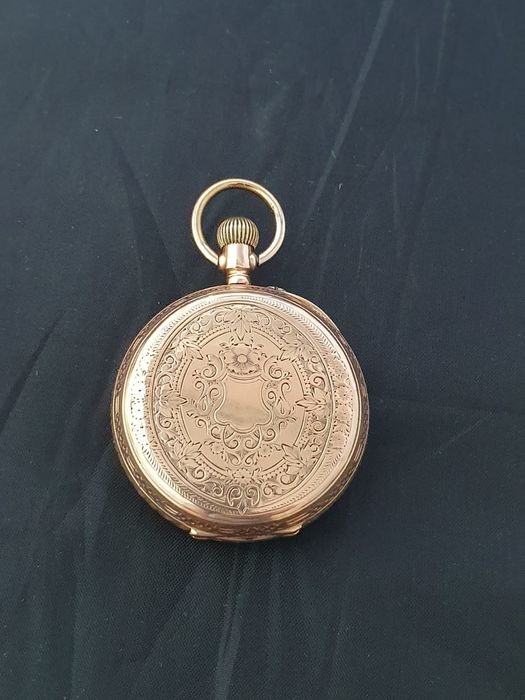 14k Gold Pocket Watch - Unisex - 1850-1900