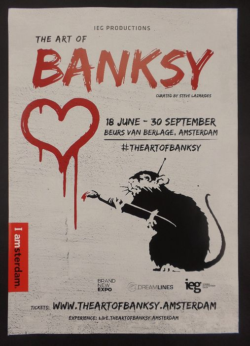 IEG Productions - The art of Banksy - Exhibition - 2017