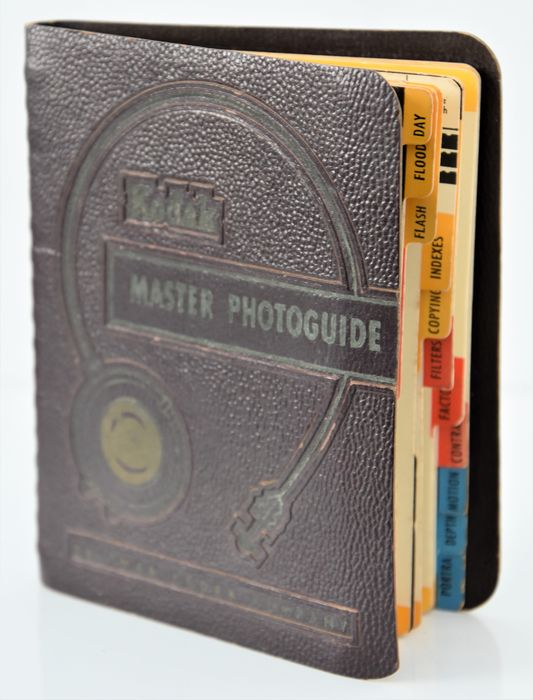 Eastman 1951 EASTMAN   'Master Photoguide'  Instruction Booklet.