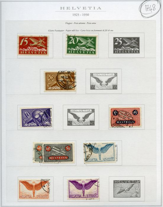 Switzerland 1940/1990 - Service stamps and more