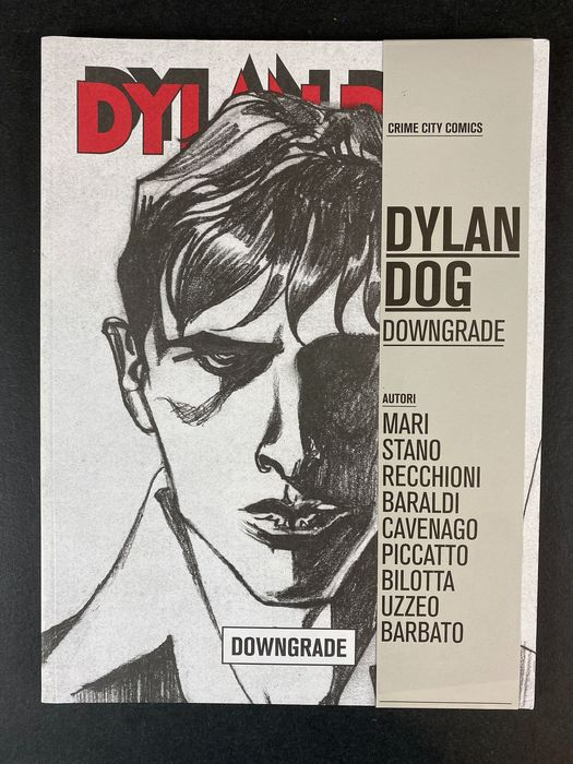 "Dylan Dog - ""Downgrade"" Crime city comics - Limited Ed. - Softcover - First edition - (2014)"