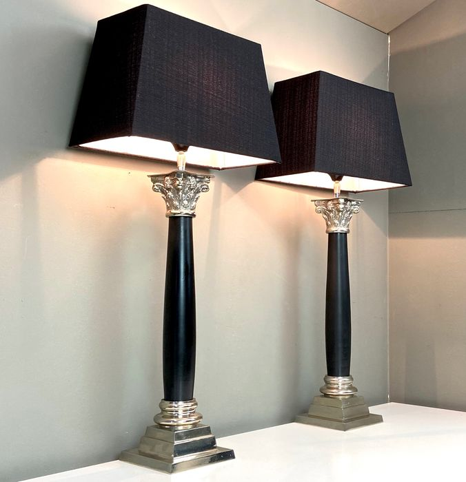 Pair of Large modern-classic Table lamps