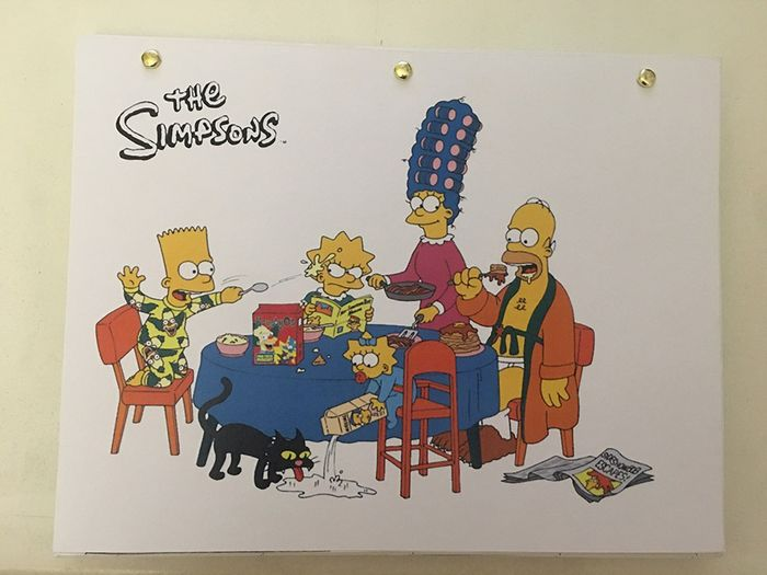 """The Simpsons - Story-board complet - 84 pages - GAB10 """"Don't fear the Roofer"""" - Vos - (2004)"""