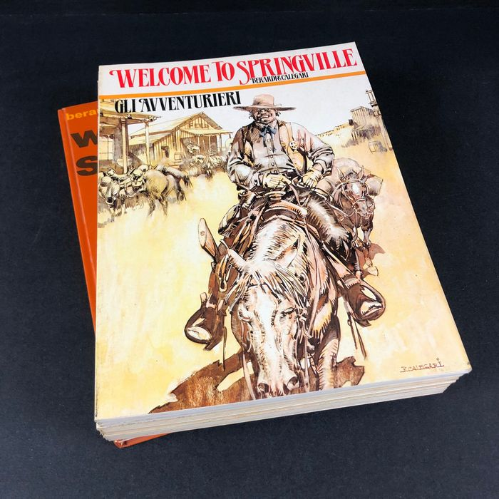 Storie del West - 10x volumi - Softcover - First edition - (1980/1987)