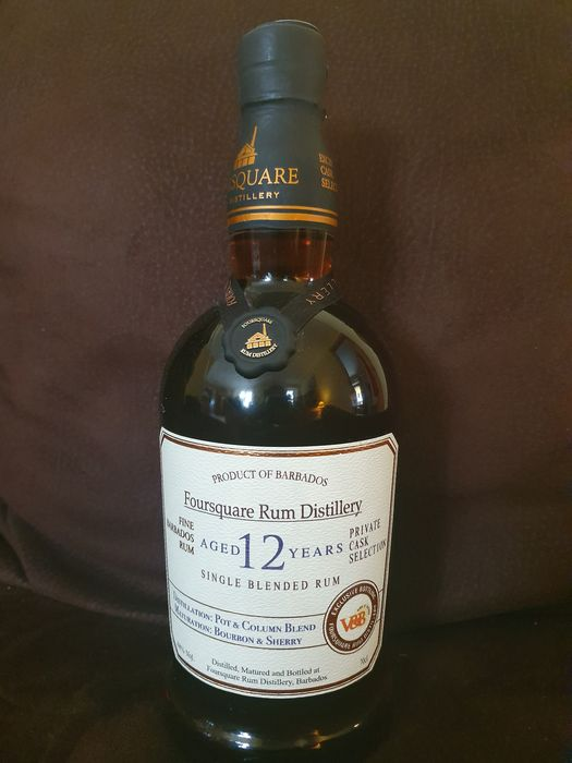 Foursquare 12 years old - V & B Private Cask Selection - 70cl
