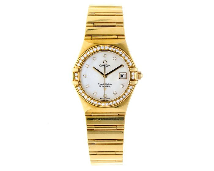 Omega - Constellation - MOP wijzerplaat - Diamanten - 11957500 - Donna - 2000-2010