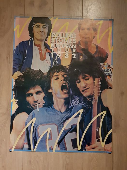 Rolling Stones - Multiple titles - TOURPOSTER 1982 + poster 70's - 1970/1982