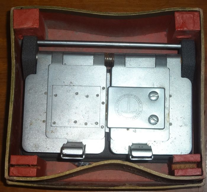 Switzerland The Paillard Trifilm Splicer with Box For 16, 8 and 9 1/2 mm Films
