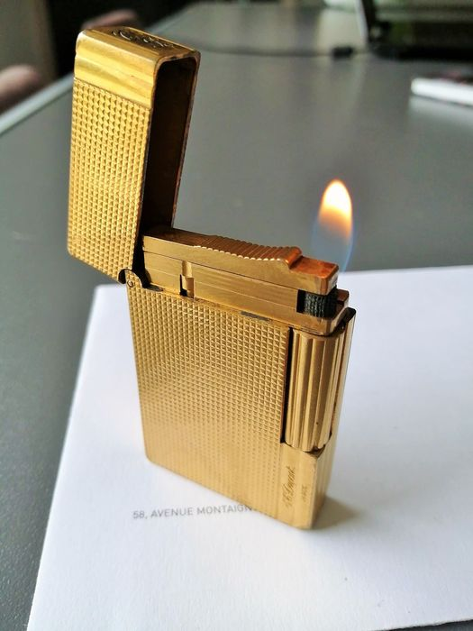 S.T. Dupont - Lighter - Gold plated gatsby of 1
