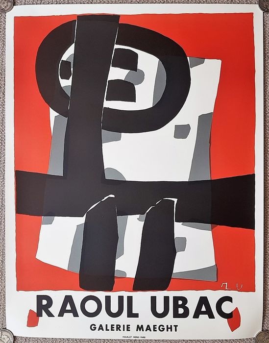 Raoul Ubac - Exposition 1950 - Lithograph - 1950