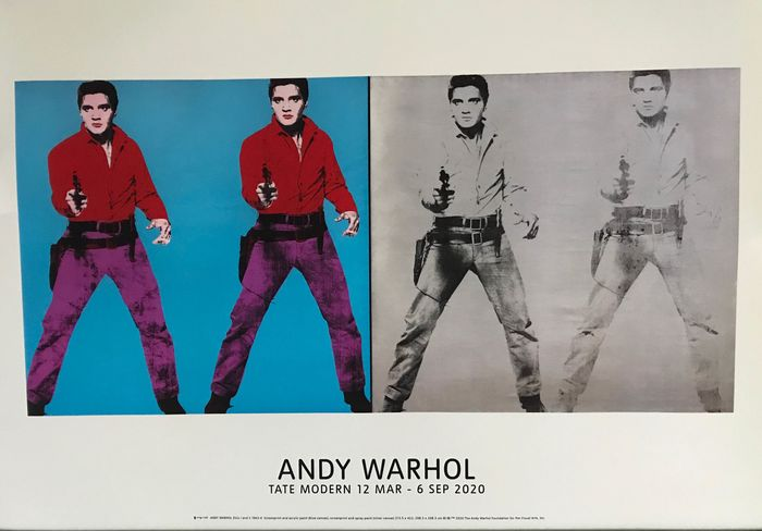 Tate Modern - Elvis I and II after Andy Warhol - 2020