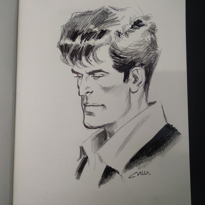 Dylan Dog - Claudio Villa - illustrazione originale - Losbladig