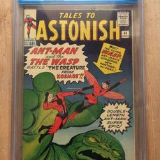 Tales To Astonish #44 - 1st app. of The Wasp - CGC Graded 6.5 - Agrafé - EO - (1963)